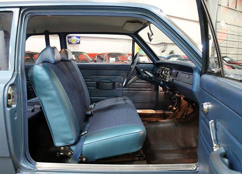 1969 AMC Rambler sedan front bench seat photo by GR Auto Gallery.