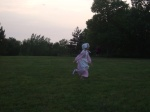 girl at Plum Creekpageant