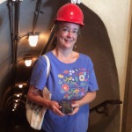 Author Kathleen Ernst, Platteville's MiningMuseum
