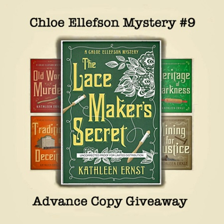 Lacemaker's Secret ARC-Giveaway