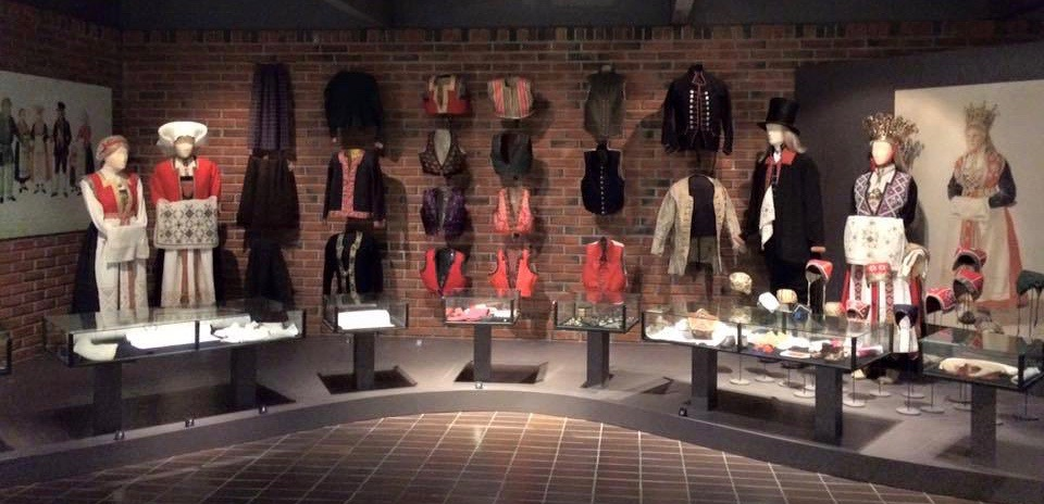 Textile gallery, Hardanger Folk Museum.