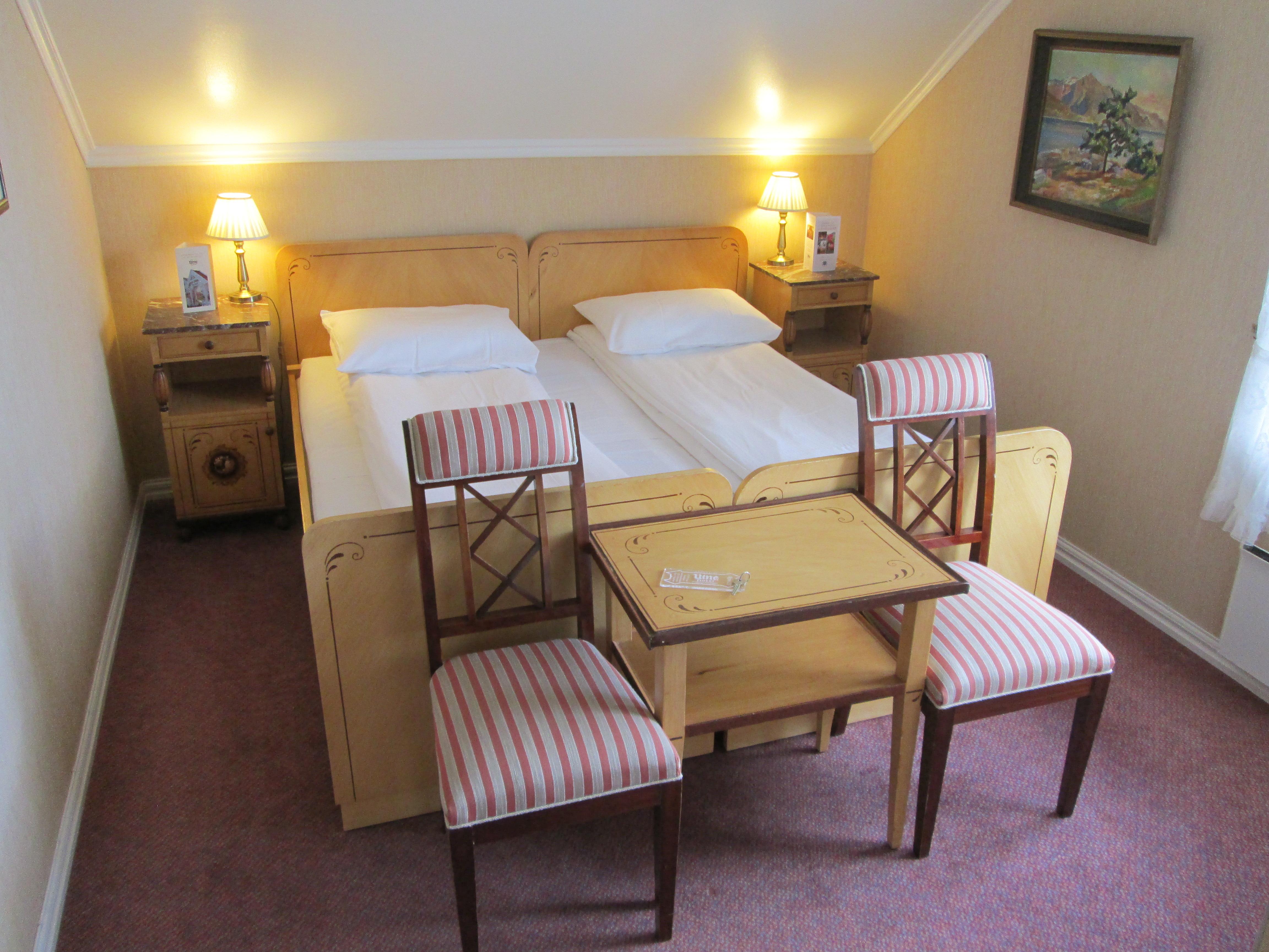 Room 15, Utne Hotel.