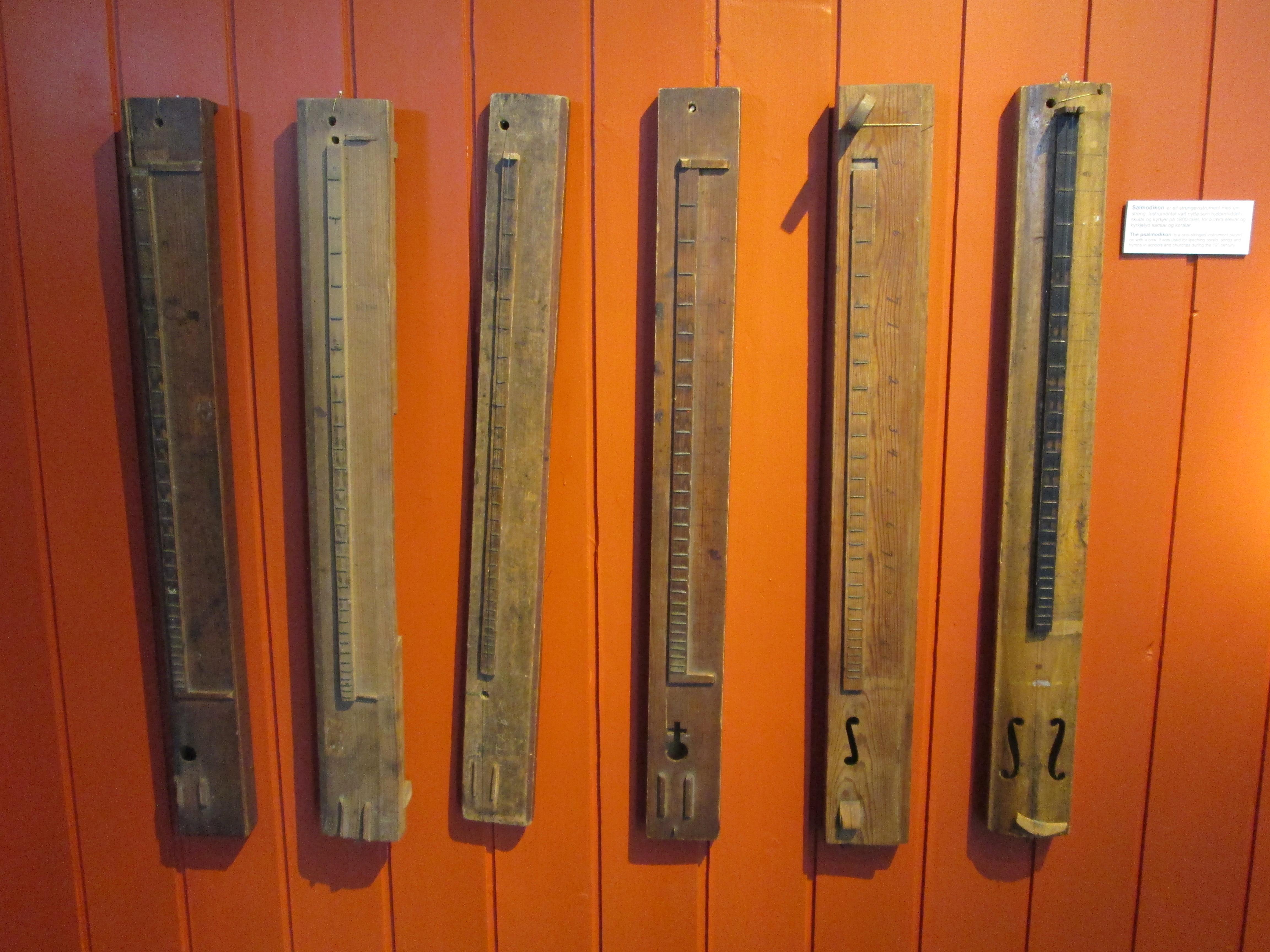 Psalmodikons, Hardanger Folk Museum